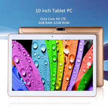 Free shipping 10 inch MTK8752 3G Dual SIM WCDMA GPS 4GB/32GB Android 5.1 Tablet PC support Google Play store(China (Mainland))