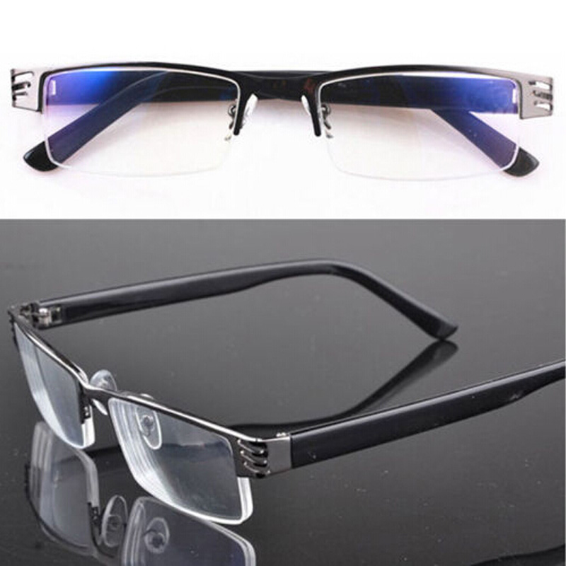 New Reading glasses Hot coating metal half frame reading glasses 1 0 to 4 0