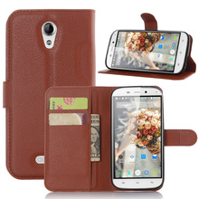 """Buy Luxury Wallet PU Flip Leather Case Cover Doogee NOVA Y100X 5.0""""Phone Back Cases Doogee Y100X Card Holder Stand for $3.35 in AliExpress store"""