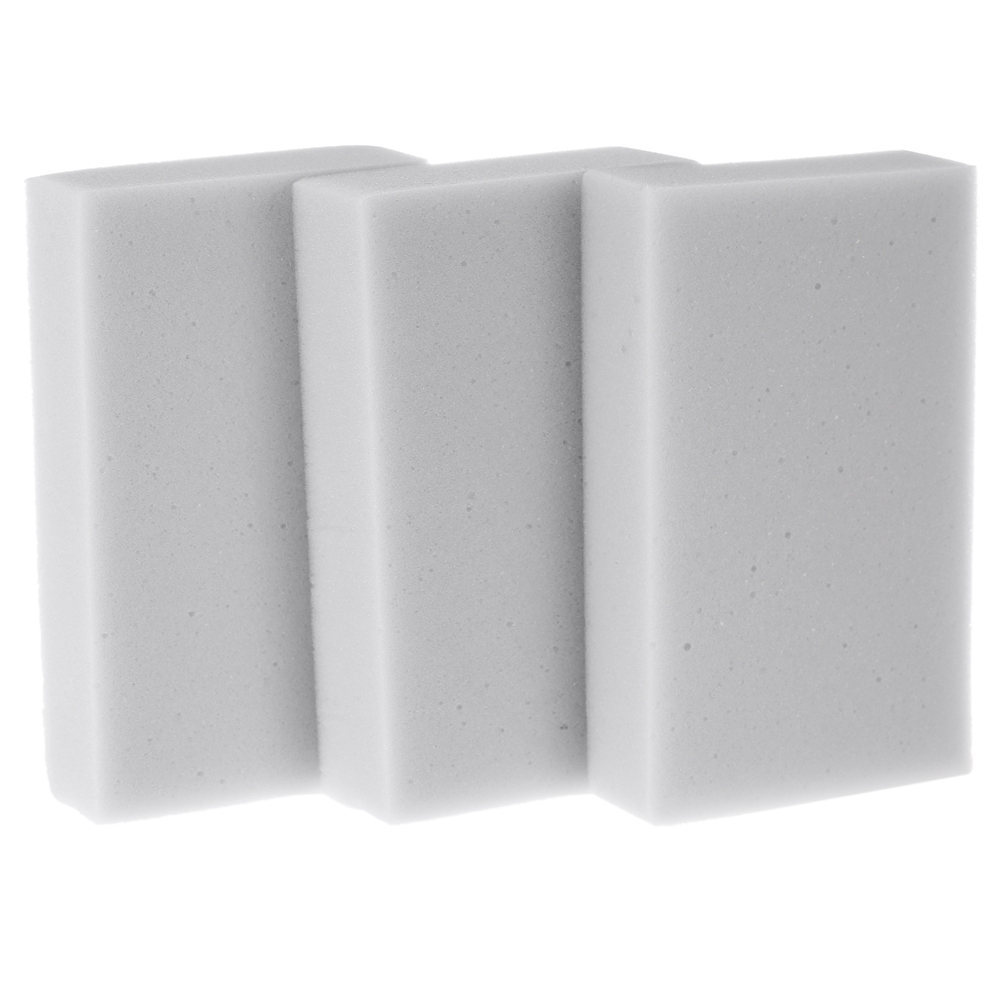 100pcs Household Cleaning Tools Magic Sponge Cleaner Eraser Melamine Cleaner 100x62x20mm Grey(China (Mainland))
