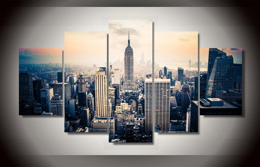 Pictureprinted New York City Hd Painting On Canvas Room Decoration Print Poster Picture Canvas