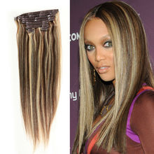 Cheapest Wholesale Human Hair Clip In Extensions Brazilian Virgin Hair Clip In Extension 140g Clip In Hair Extensions