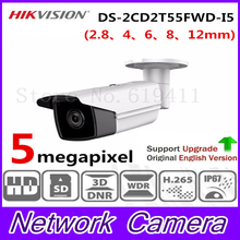 Buy New Released HiK H.265 5MP Network Bullet Camera DS-2CD2T55FWD-I5 English Version HD IP Camera Built-in SD Card slot 50m IR IP67 for $182.00 in AliExpress store