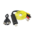 Easier Cap USB 2 0 RCA AV S Video CVBS Audio Video Easier Cap VHS to