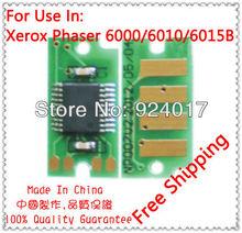 Compatible Xerox 106R01631 106R01632 106r01633 106R01634.Toner Chip,Refill Toner Chip For Xerox 6015 6015B 6010 6010B Printer