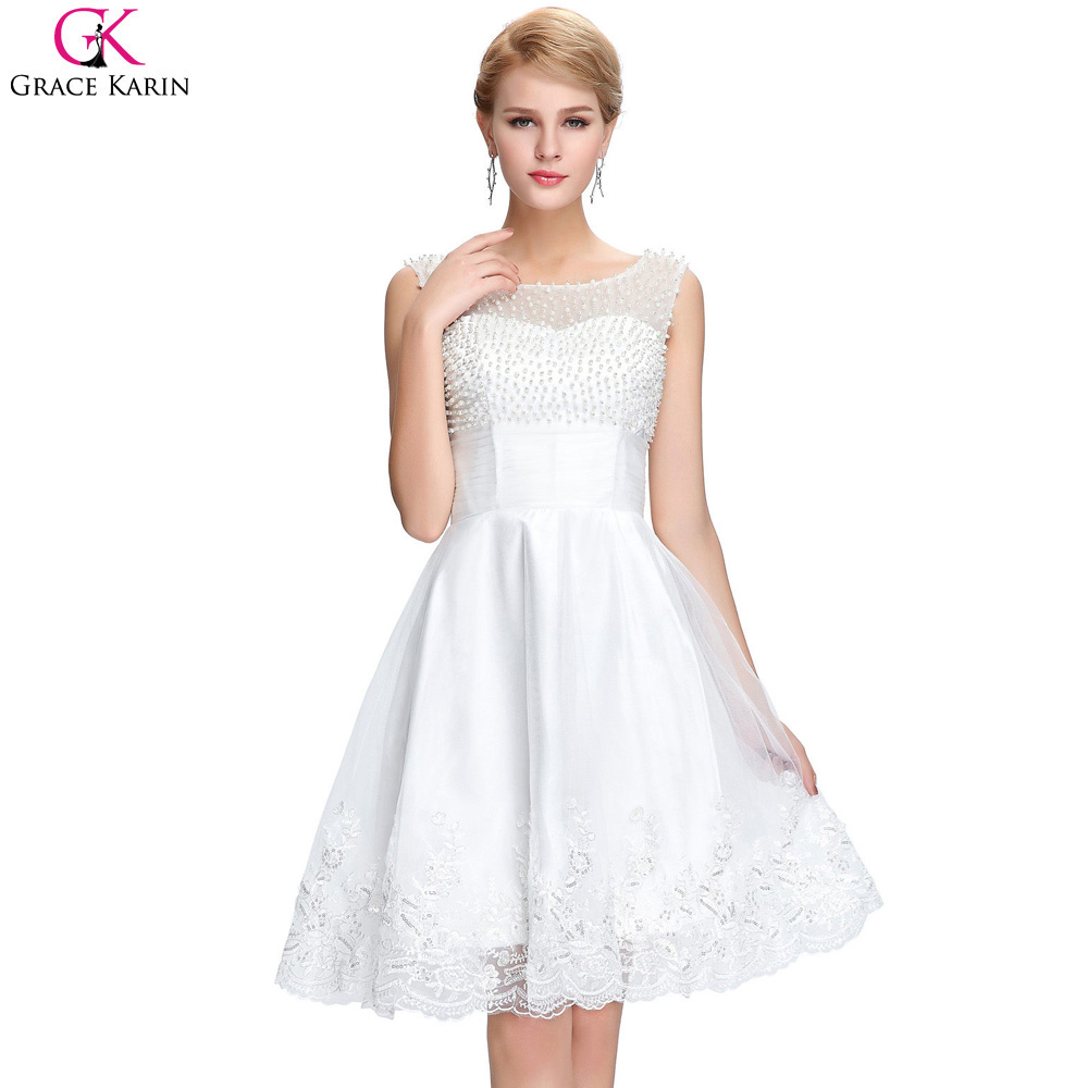 Compare Prices on Short White Satin Prom Dress- Online Shopping ...