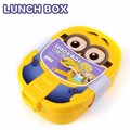 2016 Cartoon Lunch Box Food grade plastic Food Containers 800ML Free Shipping