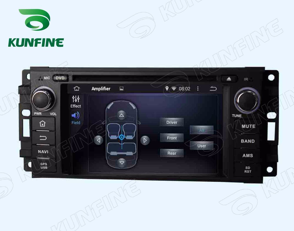 Car dvd GPS Navigation player for Chrysler 300C Dodge Jeep2005-2007   6.2 inch B