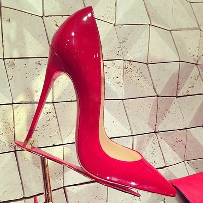 Promotion Impera Sexy Women Pumps party High Heels women pumps Pigalle shoe female Pointed Toe Patent Leather Office shoes women