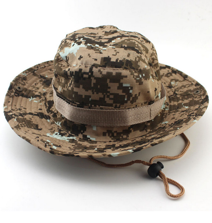 Men/women Camouflage Color Military Army Bonnie Hats Outdoor Sunhat Topee Climbing/Fishing/Camping/Hunting Caps - Come On, Everybody, Sporting Store store