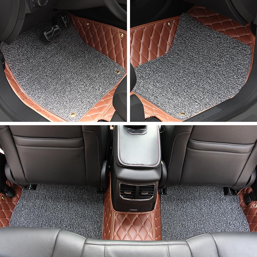 Car Floor Mats Car Special Floor Mat Black Beige Wine Red Brown for Lexus ES250 ES300 ES300h ES200 ES350 2013 2014 2015(China (Mainland))