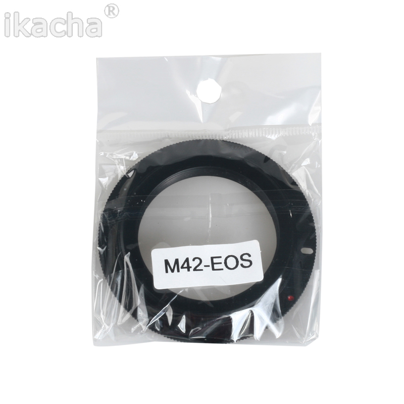 M42 Screw Lens For Canon EOS EF  Mount  Adapter Ring (2)