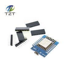 1PCS D1 mini - Mini NodeMcu 4M bytes Lua WIFI Internet of Things development board based ESP8266 by WeMos(China (Mainland))