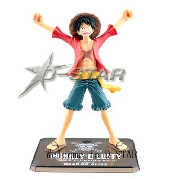 Free Shipping 3pcs One Piece Monkey D Luffy After 2 Years THE NEW WORLD PVC Figure Toy