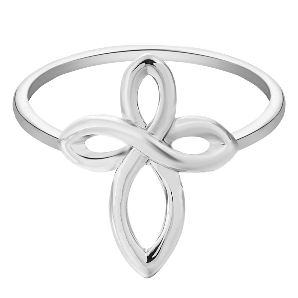 Kinitial 1Pc Infinity Cross Ring Best Jewelry Selectable Midi Ring Above Knuckle Rings Statement Novelty Women Finger Jewelry(China (Mainland))