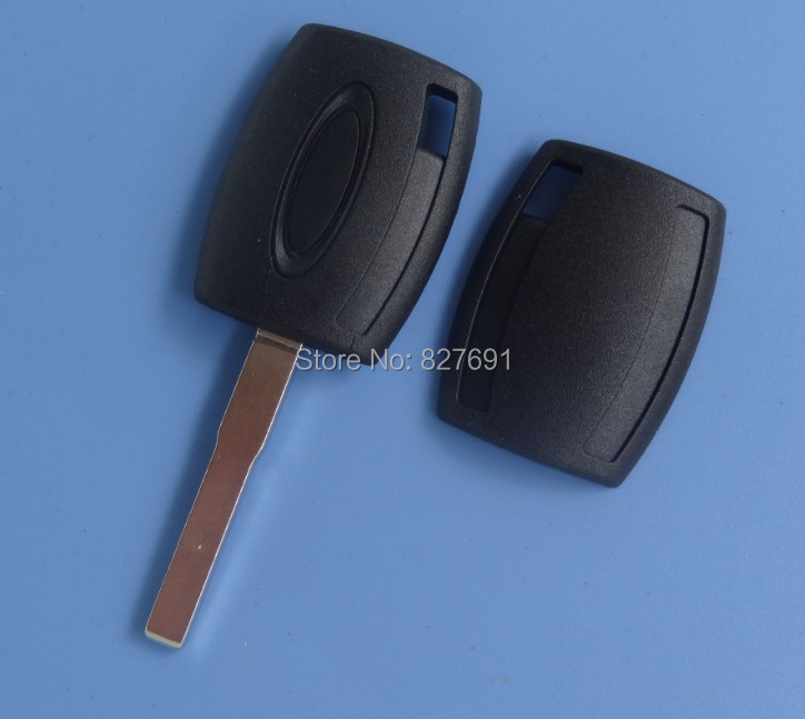 High quality transponder key shell for Ford Fiesta Mondeo Focus C-Max S-Max Galaxy Kuga NO LOGO /car key shell free shipping(China (Mainland))