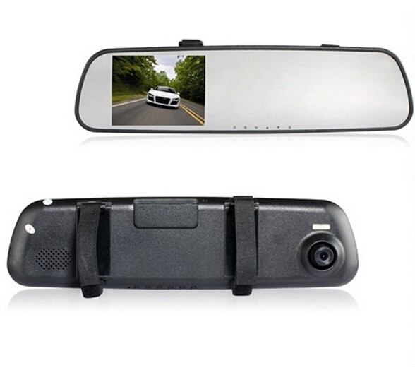 "Гаджет  A2 2.7"" TFT Screen Lens Vehicle Black Box DVR Camera Video Recorder Rearview Mirror with Infrared Photo Taking Voice Recording None Автомобили и Мотоциклы"
