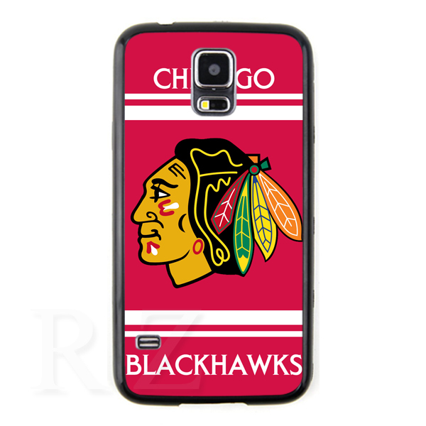 chicago blackhawks fashion NHL team logo original hard Case cover Samsung galaxy s3 s4 s5 note 2 3 NO5280 - Abs Phone Cases store