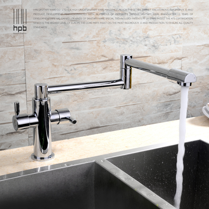 HPB Extension Hot and Cold Water Kitchen Faucet Mixer Tap Sink Torneira de Cozinha HP4008(China (Mainland))
