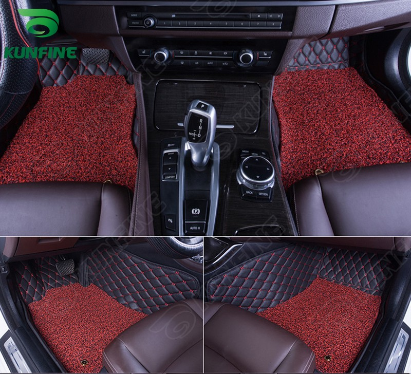 Top Quality 3D car floor mat for VW Passat foot mat car foot pad with One Layer Thermosol coil Pad 4 colors Left hand driver(China (Mainland))