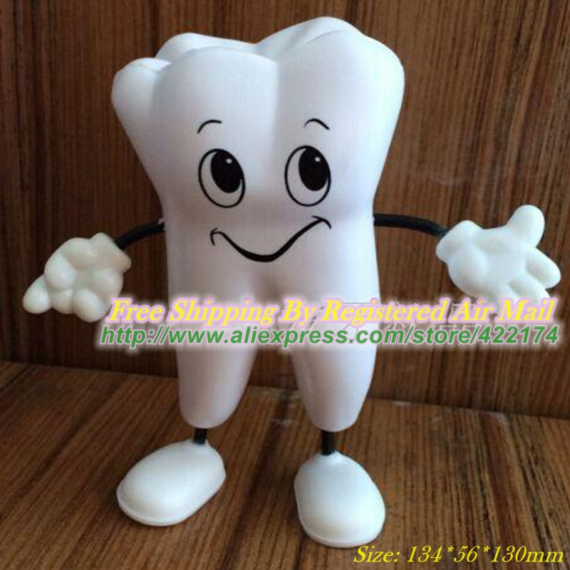 Free Shipping Tooth Figure Squeeze Toy PU Tooth Stress Reliever Dental Clinic Promotional Products<br><br>Aliexpress