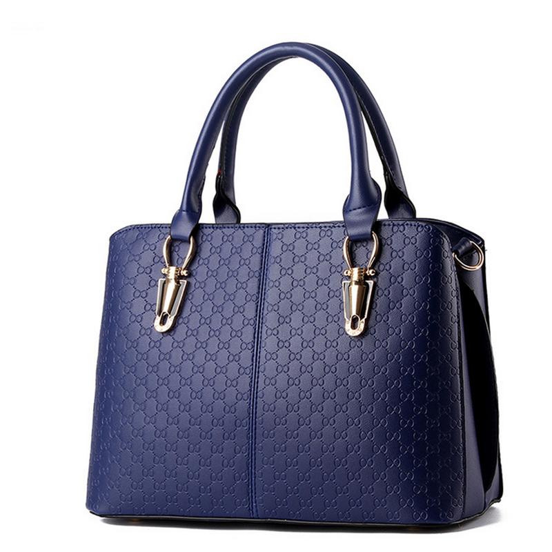 Cute Sac PU Leather Women Bags Fashion Solid Soft Large Capacity Tote Bag Ladies Luxury Shoulder Bag Bolsa Feminina(China (Mainland))