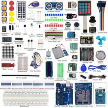 Keywish Наиболее Полный RFID Датчик Starter Kit Для Arduino UNO R3 Starter Kit Воды Датчик уровня Серво/DC/шаговый Двигатель RGB LED(China (Mainland))