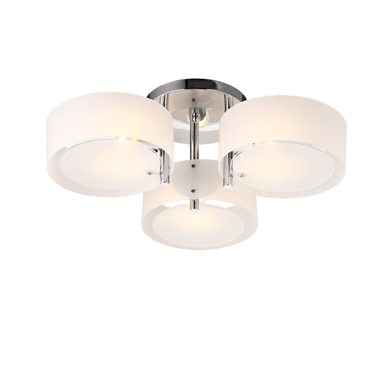 Modern LED Ceiling Lamp 7 Lights E27 Acrylic Round