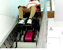 Electric wheelchair World Patent disabled SUV electric scooter bike clamp stair(China (Mainland))