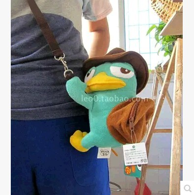 Rilakkuma bear easily inclined shoulder bag crown pig embrace package stitch oblique satchel bag MAO zero wallet phineas ferb(China (Mainland))
