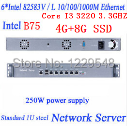 Firewall и VPN I3-3220 3.2GHZ Core i3/3220 H67/B75 3,3 Intel 82583V /wayos B75-N bremed bd 3220
