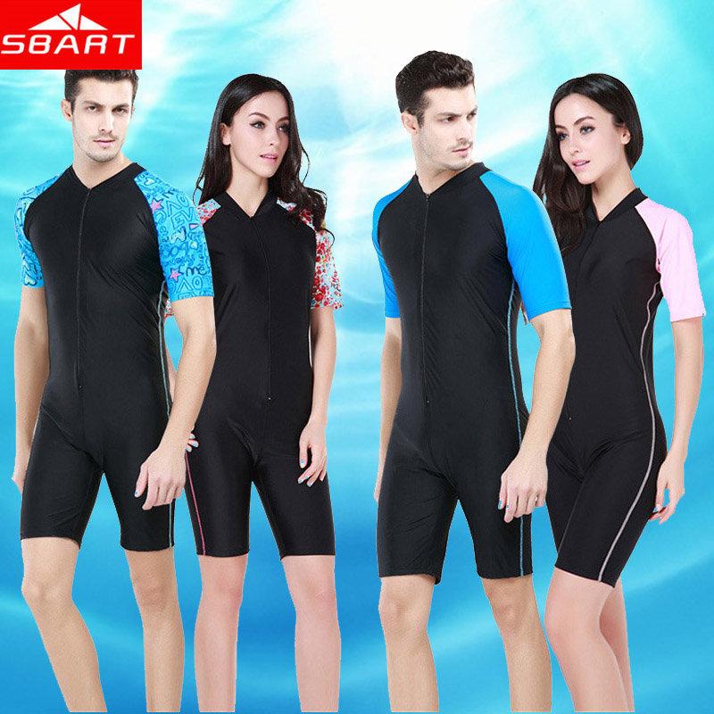 SBART UPF50+ Wetsuit Men Fun Outdoor Scuba Diving Suit Swimming Wet Suits Lycra Dive Skins Rashguard Women Rash Guard Sale XXL G(China (Mainland))