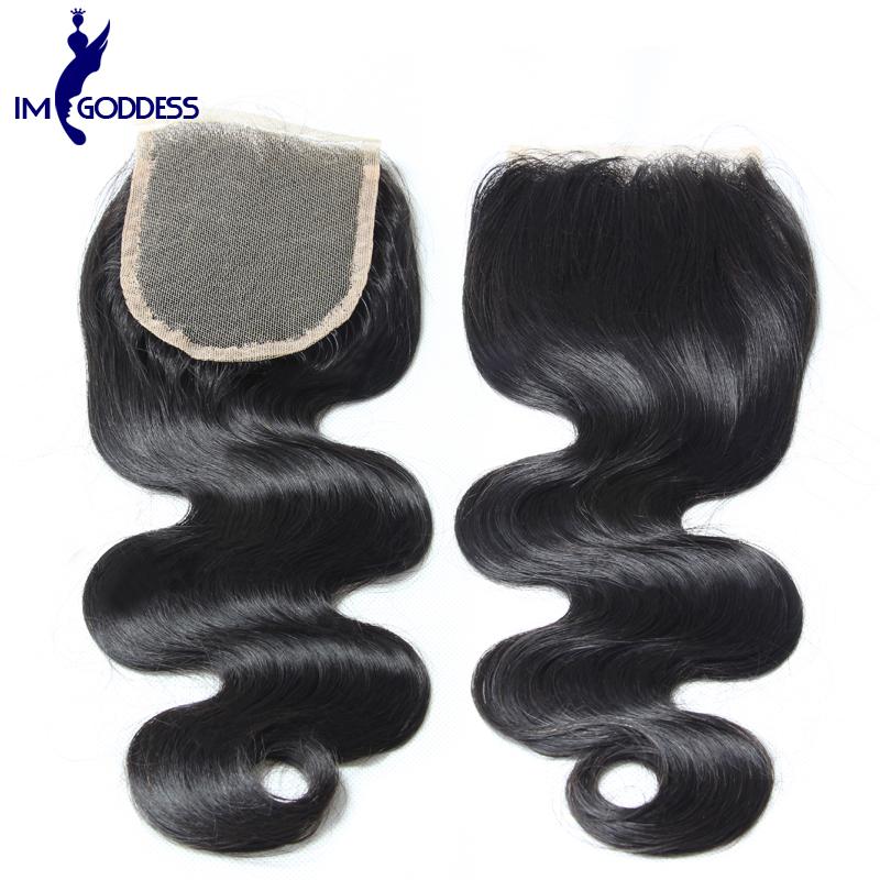 Здесь можно купить  Cheap Brazilian Lace Closure Brazilian Body Wave 4*4 Human Hair Closure Free Middle Three Part Brazilian Virgin Hair Closure  Волосы и аксессуары