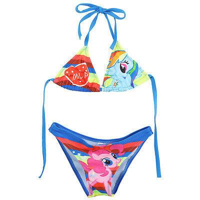 Два - мой маленький пони девушки дети шарм купальник бикини установить возраст 2-10у