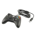 Gamepad USB Wired Joypad Controller For Microsoft for Xbox Slim 360 for PC for Windows7 Black