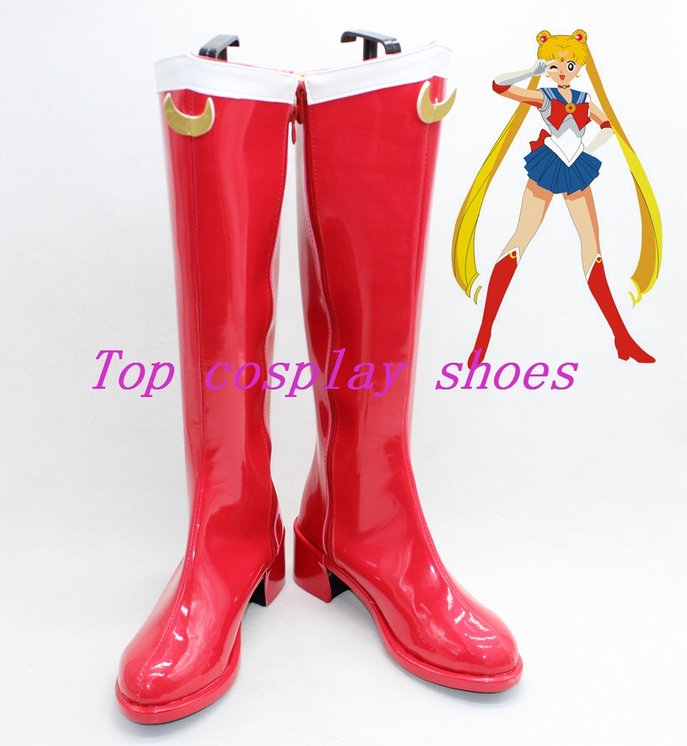 sailor moon shoes boots shoe boot new