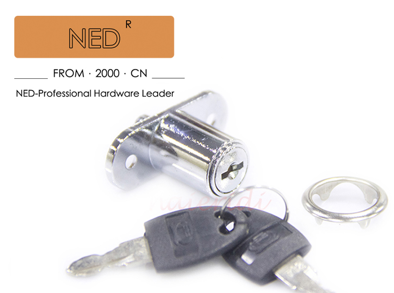 NED105-23 Plunger Lock\Push Lock for Sliding Glass Door\Showcase Lock Furniture cabinet Lock 23mm thickness(China (Mainland))