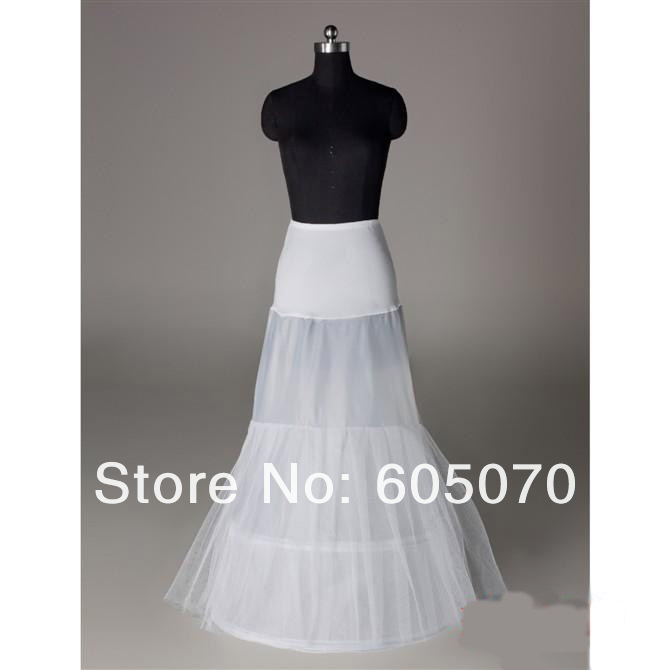 Wholesale In stock one hoop jersey spandex big mermaid petticoat for mermaids wedding dresses(China (Mainland))