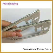 Original Rear Housing Middle Frame Bezel Case Cover For Samsung Galaxy S4 i9500 i9505 i337 Housing +Side Button, Free Shipping(China (Mainland))