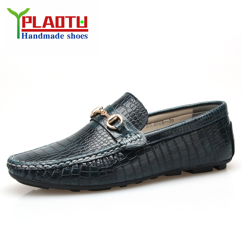 2015 brand Men Sneakers 100% Genuine Leather Driving Loafers Flats Men Mocassins Gommino Loafer Boat Shoes Men Loafers<br><br>Aliexpress