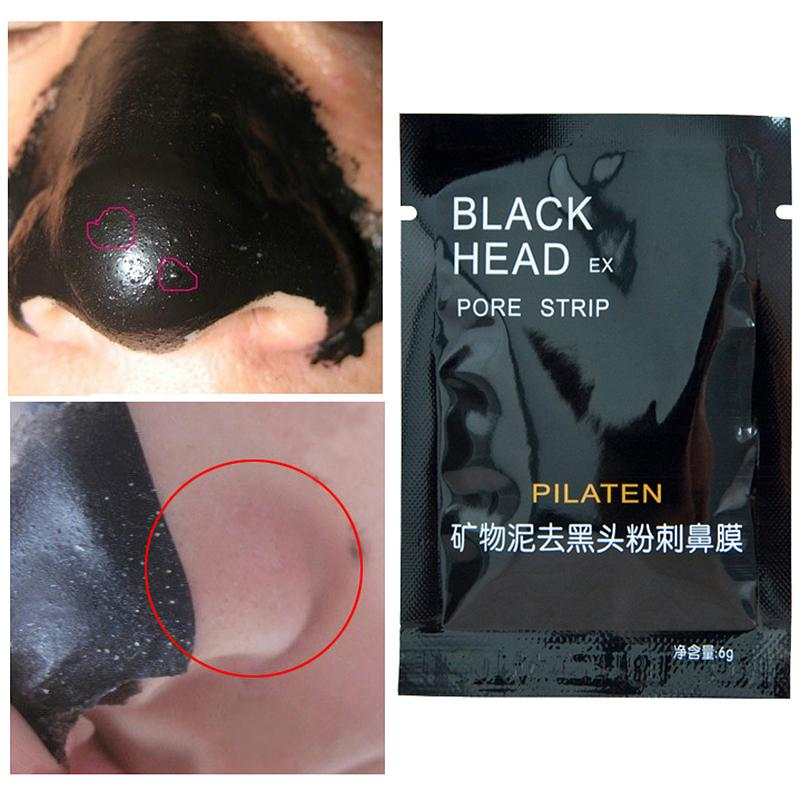 black head pore strip pilaten instructions