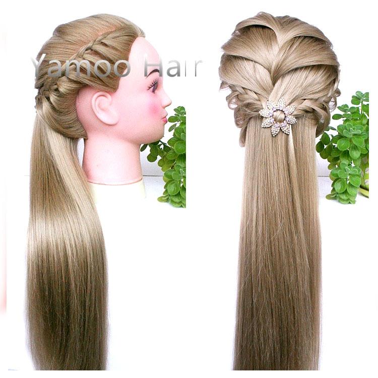 Голова для плетения кос в
