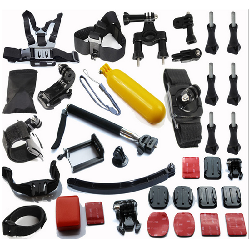 Go Pro Accessories Kit Gopro Accessories Mounts Set For Hero3 HERO 4 3+ 2