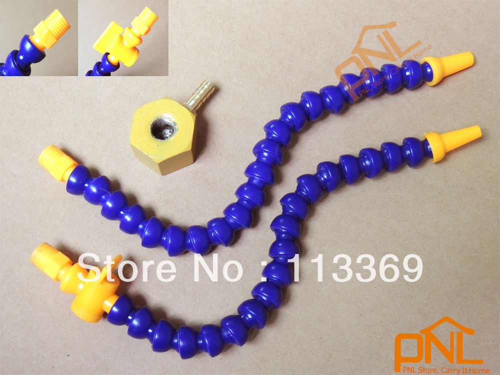 """1/4"""" Small Magnetic Base With 2PIECES different Valve Coolant Hoses for Milling(China (Mainland))"""