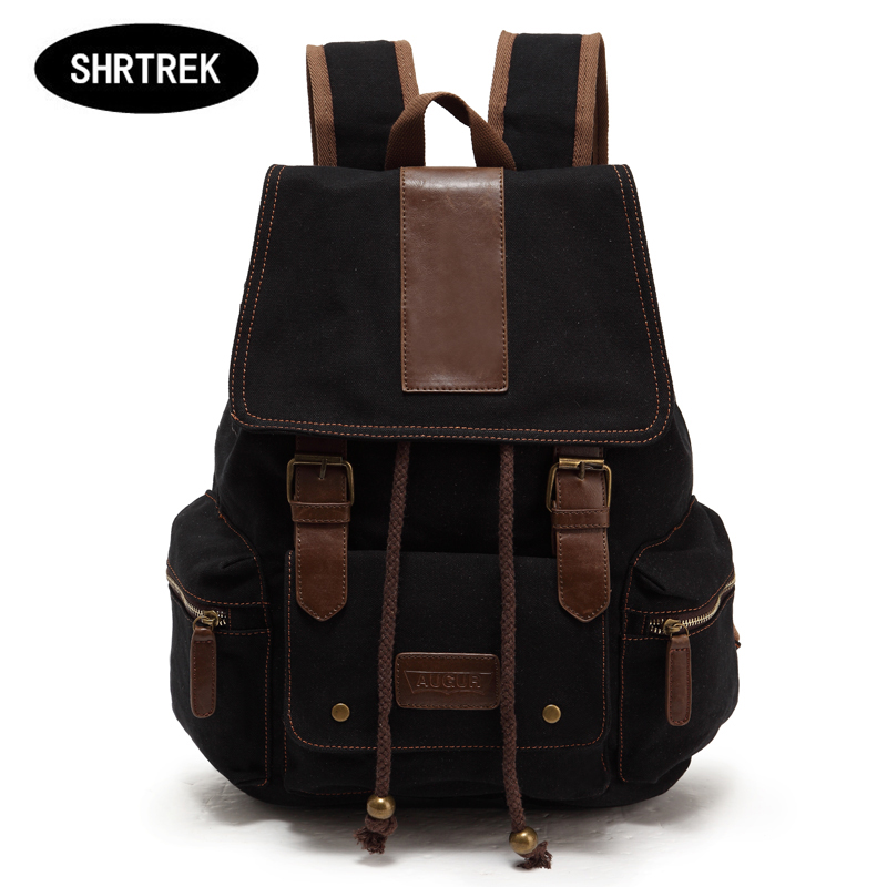 New Vintage Backpack Fashion Canvas Backpack Leisure Travel School Bags Laptop Computers Unisex Backpacks Men Backpack<br><br>Aliexpress