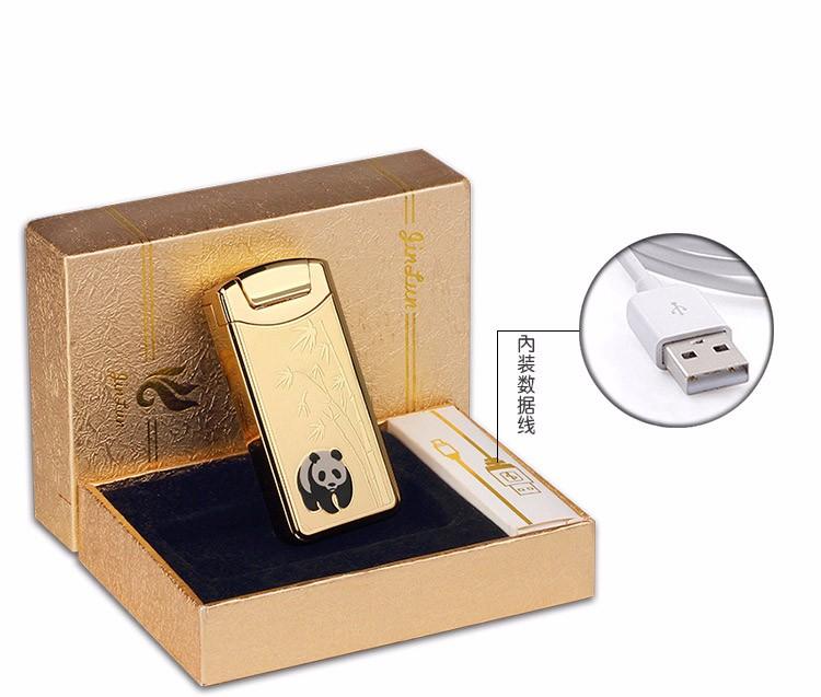 ถูก 1ชิ้นขายส่งเบาพกพามินิบาร์แบบชาร์จไฟUSBเบาw indproofบุหรี่อิเล็กทรอนิกส์arcสูบบุหรี่เบาencendedor
