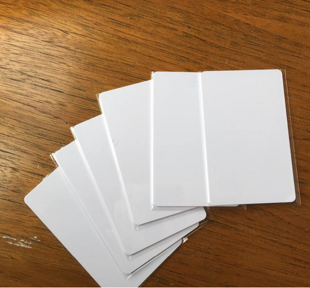 Free shpping by DHL 10000pcs CR80 Plain 13.56MHz NFC RFID Proximity Card ISO 14443A Compatible With MF S50 1K(China (Mainland))