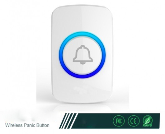Panic Button F51 Wireless Transmitter Panic Button used for elderly people or emergency situation alarm system(China (Mainland))