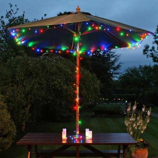 Patio String Lights In Bulk : Wholesale 2pcs/Lot 100 Multi Colour LED Solar Fairy Lights Solar Garden Powered Landscaping ...