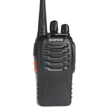 Digital Walkie Talkie BaoFeng BF-888S FM Transceiver with Flashlight 400-470MHz Dual Band Intercom Digital Two Way Radio